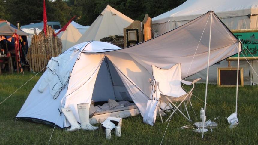 Sketched Campsite