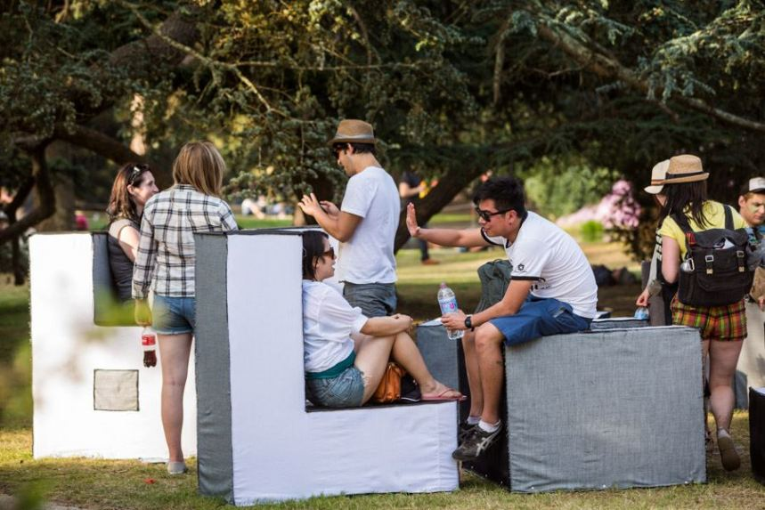 Harvest Festival 2012, Modular Seating 3