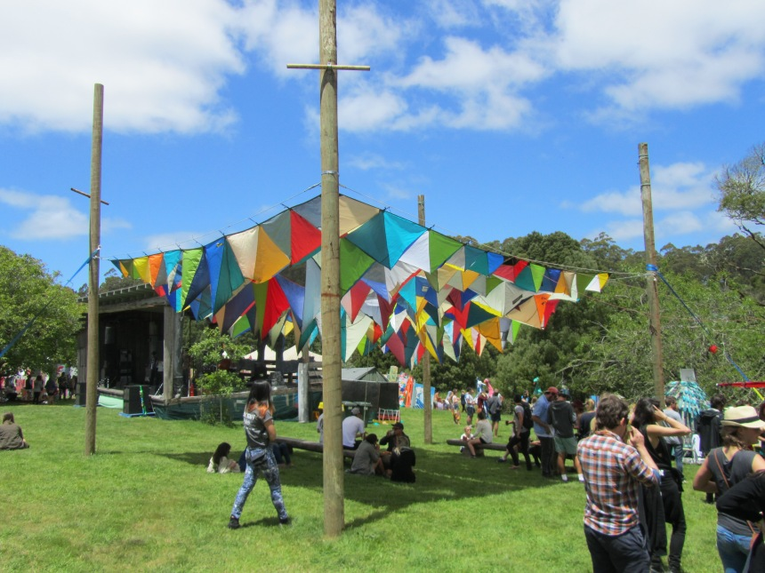 Sky.of.tents Falls Music & Arts Festival 2013/14 Installations